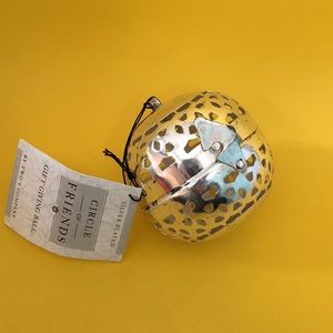 Pierced Ball ornament giving tradition orb box